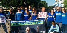 """הפגנה בת""""א נגד תכנית המתאר של משה כחלון – תמ""""א 1:ארגון מגמה ירוקה: """"אסורלתת יד […]"""
